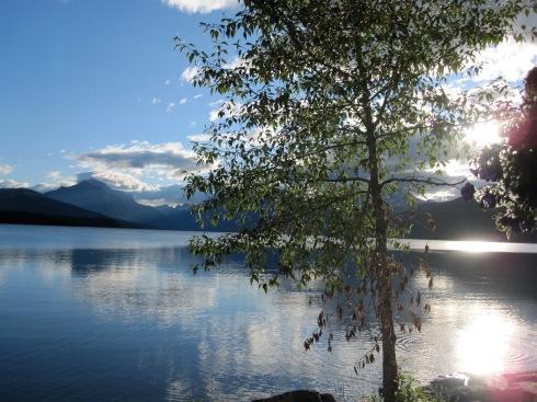 Sunrise at Lake McDonald-Glacier Nat'l Park