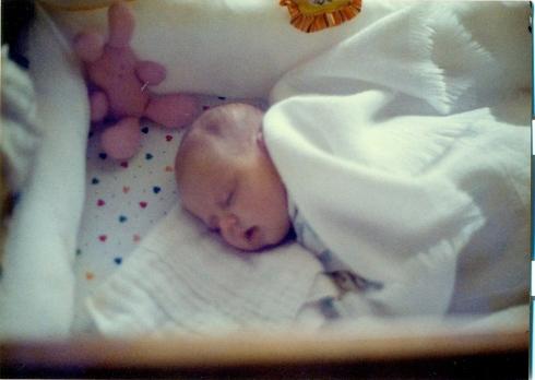 The Daughter sleeps