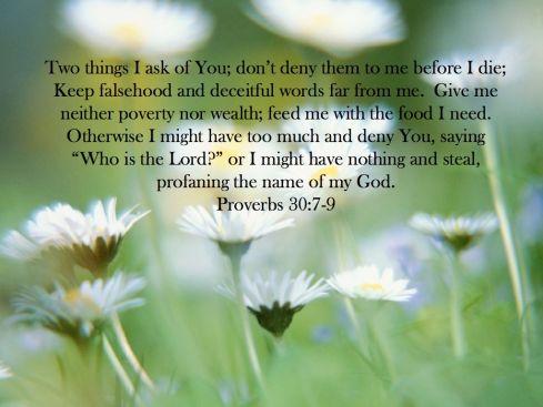 Proverbs 30 .001